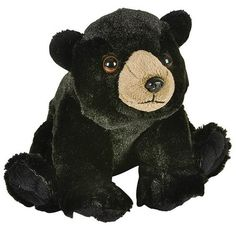 WHAT'S INCLUDED: From a realistic design and distinctive facial markings, our floppy Black Bear are simply irresistible! They are huggable, hand-washable, soft, shed-free and made from high quality polyester and stitching to ensure added safety!  	 DIMENSIONS: Measuring at 8 inches, our adorable Black Bear stuffed animals are comfortable and soft to the touch! The perfect size for at home and take on the go play!  	 MULTI-PURPOSE: Expand your child's interest in wildlife studies and animal…