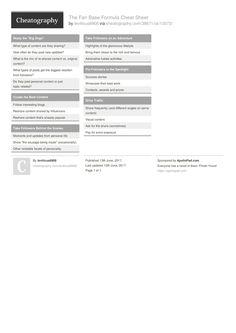 EtherChannel & VTP Cheat Sheet by bausac16 http://www