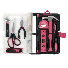 Apollo 126-piece Pink Kitchen Drawer Tool Kit | Overstock.com Shopping - Top Rated Tool Sets