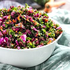 Kale, Cabbage and Carrot Slaw, Find this and other wonderfully yummy recipes from food artisans around the world at our fantastic website yumgoggle.com
