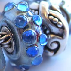 """Perennial favorite, """"Moon Ocean"""" finds new design companions among he Autumn 2012 Trollbeads colleciton"""
