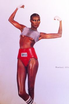"""""""We are not on this earth to accumulate victories, things, and experiences, but to be whittled and sandpapered until what's left is who we truly are."""" -- Arianna Huffington (photo :Grace Jones)"""