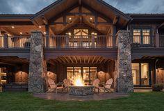 Firepit. Firepit Ideas. Backyard with firepit. #Firepit #FirepitDesign #FirepitIdeas #Backyard Cameo Homes Inc.
