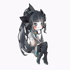Artemis, New Shark, Otaku, Anime Girl Cute, Manhwa, Chibi, Concept Art, Anime Art, Character Design