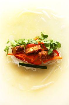 Tofu Vietnamese Spring Rolls   Minimalist Baker Recipes