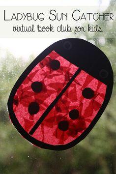 Ladybug Sun Catcher - bringing Yoo Hoo Ladybug by Mem Fox alive