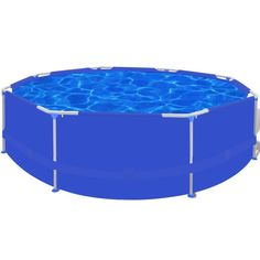 Above Ground Steel Frame Swimming Pool 4383L Blue | Buy Home & Garden