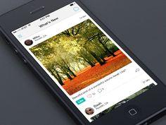 Adapting UI to iOS 7: The Side Menu | UX Magazine Side menu solution