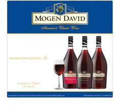 Mogen David Pomegranate is wonderful! We drink a ton of this! havent tried the blackberry yet