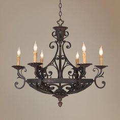 kathy ireland lighting collection | Kathy Ireland La Romantica Chandelier - #23280 | LampsPlus.com  #KathyIreland #Lighting