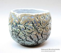 "alexandr miroshnychenko.  Beautiful example of an elegant ""pinch pot!"""