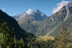 Brand bei Längenfeld im Tiroler Ötztal