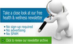 Health newsletter - wellness newsletter