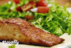 Tormás-mustáros lazac | Nosalty Breakfast Lunch Dinner, Breakfast Recipes, Keto Recipes, Healthy Recipes, Fish Dishes, Light Recipes, Salmon, Clean Eating, Food Porn