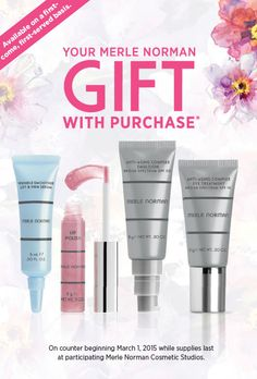 d76a0d1ad66 Your Spring Free Gift with Purchase of 2 or more Merle Norman ...