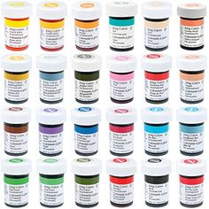 FIRST STREET FOOD COLORING ASSORTMENT 616 oz Bottles ** Check this ...