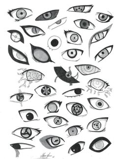 Ame no Yoru discovered by on We Heart It - Horror Anime&Manga Eye Drawing Tutorials, Drawing Techniques, Drawing Tips, Drawing Sketches, Naruto Eyes, Naruto Art, Anime Naruto, Manga Eyes, Anime Eyes