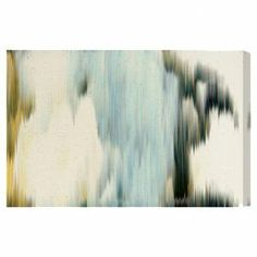Equally at home in an artful collage or on its own as an eye-catching focal point, this chic canvas print features an eye-catching abstract motif. Made in the USA.  Product: Canvas printConstruction Material: Canvas and woodFeatures:  Abstract motifMade in the USAIncludes a certificate of authenticity by the artist.  Ready to hang Cleaning and Care: Dust lightly using a soft, clean, lint-free cotton.