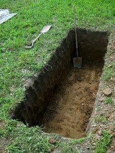 Attleson Farm: Diggin a Grave Photo - Visual Hunt