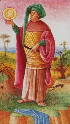 King of Pentacles - Bosch Tarot