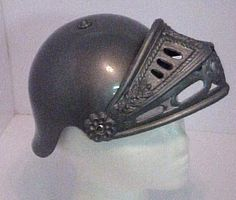 Gobs of helmets and hats at this site       http://www.unitedmask.com/hats/helmets.asp