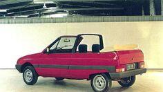 OG | 1981 Citroën Visa Cabriolet | Full-size Heuliez proposal