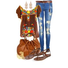 Fiesta Casual by angela-windsor on Polyvore