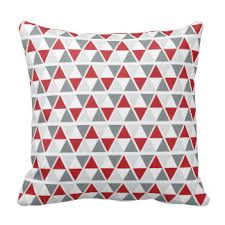 Image result for red geometric cushions