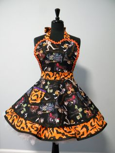 Hey, I found this really awesome Etsy listing at https://www.etsy.com/listing/203303342/ahaunting-we-will-go-flounce-apron
