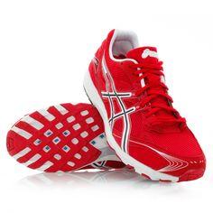 Asics Hyper Speed 4 - Running Shoes - Red/White