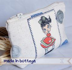 mini pochette portatrucchi - clutch for makeup