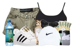 """march madness"" by madisonpiper ❤ liked on Polyvore featuring Topshop, adidas and Chanel"