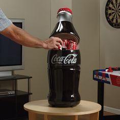 Retro Coca-Cola Bottle Fridge