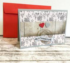 Hochzeitskarten - Karte zur SILBERHOCHZEIT - ein Designerstück von POMMPLA bei DaWanda