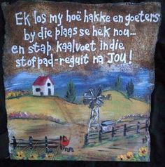 Ashoop Baie Dankie, Decoupage Printables, Afrikaanse Quotes, Godly Marriage, Inspirational Verses, Sign Stencils, Pallet Art, My Land, Romantic Love