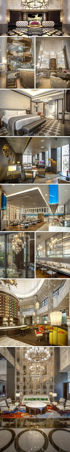 Intercontinental Dhaka City Business Hotel. Completed 2018. 300 rooms. Client: Bangladesh Services Limited, Dhaka. @chada.interiorarchitecture Rooms, Mansions, House Styles, City, Business, Interior, Projects, Home Decor, Bedrooms