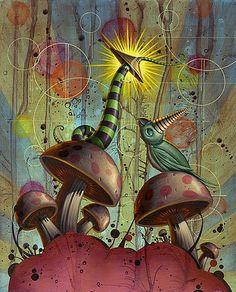 NATHAN OTA http://www.widewalls.ch/artist/nathan-ota/ #contemporary #art #illustration