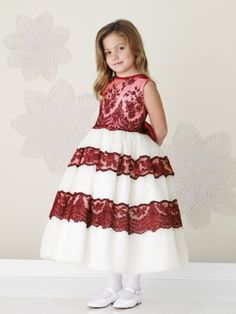 57 best red flower girl dress images on pinterest dresses of girls black and red flower girl dresses google search mightylinksfo