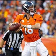 2012 - Peyton Manning, I'm pat fan hands down but much respect to the g.o.a.t he is one of the greatest. And the husbands # 1 QB soo yeah..lol