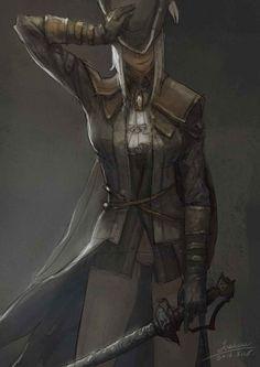 Lady Maria - Bloodborne