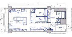 4人家族が暮らすための、国の最小水準50平米で、どんな間取りが可能なのか一級建築士に考えてもらいました Smart Home, My House, Floor Plans, How To Plan, Yahoo, Design, Ideas, Smart House, Design Comics