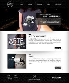 MOVART Clothing by Vitor Gomes, via Behance