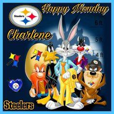 Steelers Pics, Comic Books, Disney Characters, Fictional Characters, Comics, Happy Monday, Donald Duck, Champion, Comic Strips
