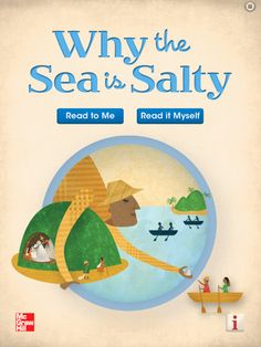 FREE April 4th- So, why is the sea salty? In this engaging folktale, your child will learn of one culture's idea of how the sea became salty, giving you an opportunity to discuss the science around the oceans and seas. Your child can listen to the story and experience the action on every page.