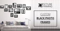 Buy the Perfect Black Picture Frame in any size @ Just Picture Framing Online. Black Photo Frames, Picture Frames Online, Personalized Photo Frames, Gallery Wall, Pictures, Crafts, Home Decor, Personalized Picture Frames, Homemade Home Decor