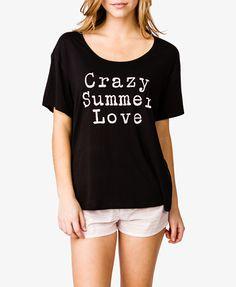 Crazy Summer Love PJ Set | FOREVER 21 - 2050364328