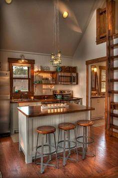 Genius Tiny House Kitchen Ideas (37) #tinyhousekitchens