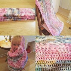 A simple but stunning pattern for a crochet baby blanket.