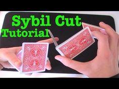 (15) Sybil Cut - Card Flourish Tutorial - YouTube