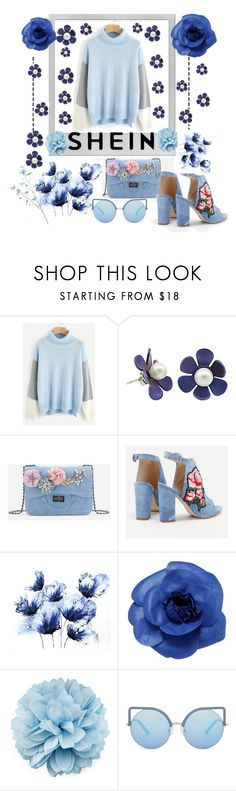 """shein fashion"" by aura-helena ❤ liked on Polyvore featuring Polaroid, Chanel, Gucci, Matthew Williamson, contest and set"